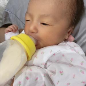 ミルク中❤️❤️❤️