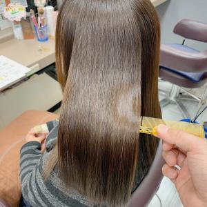 冬には乾燥が気になる毛先に潤いを補充
