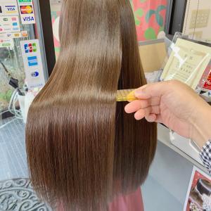 新潟市で髪質改善トリートメント