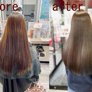 新潟市美容室KENの美髪!髪質改善トリートメント