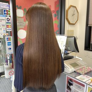 縮毛矯正の時期です。ダメージレス☆髪質改善