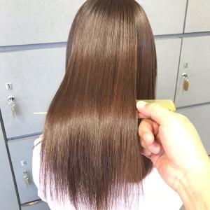 髪質改善トリートメントで今日も綺麗