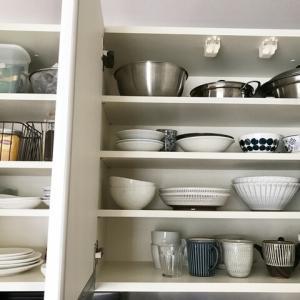 【断捨離】食器棚の整理始めます