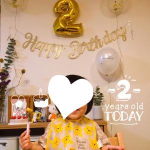 2歳誕生日でした☆