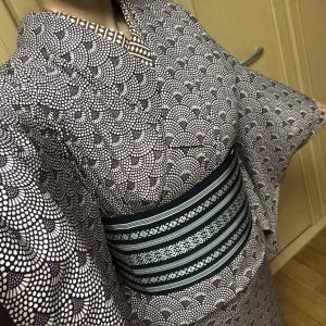 今日も着物~(1/30)&モモンガコート買ったった!