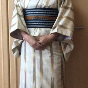 今日も着物~(4/12・4/14)&お籠りチクチク