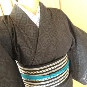 今日も着物~(4/21)&お籠りちくちく