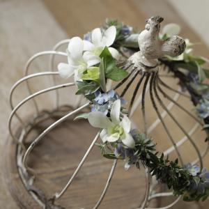 夏の花嫁さまへ、、、花冠
