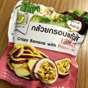 カルディのバナナチップ パッションフルーツ