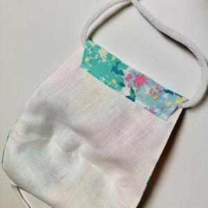 nunocoto fabricさんの型紙で立体マスクを作りました!