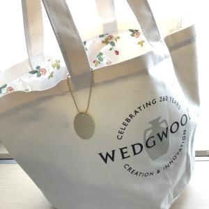 GLOW グロー 7月号 WEDGWOOD 260周年記念ロゴバッグ!