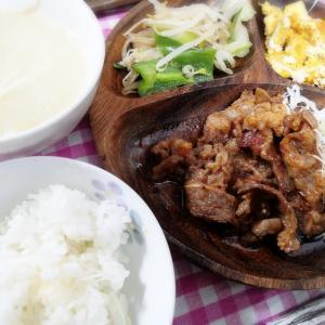 カルビ焼き肉と今週はリビドア