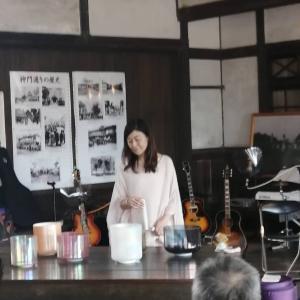 旧大社駅コンサートに初参加❣️