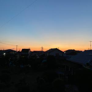 夕焼け空の美しさ