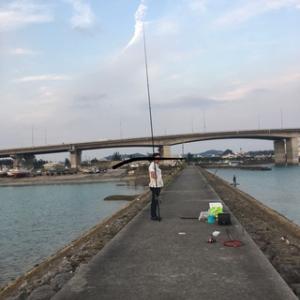 今年初タマン!かりゆし釣行!