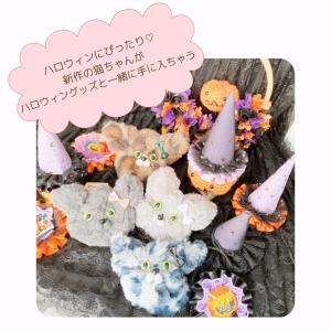 ハロウィングッズとハロウィン猫ちゃん(@cheri_rosette.yurika 様)
