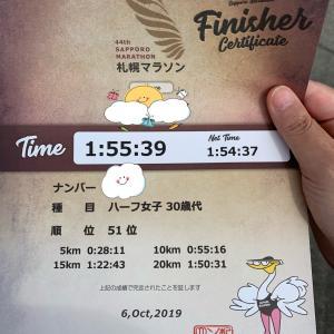 札幌マラソン速報ー!