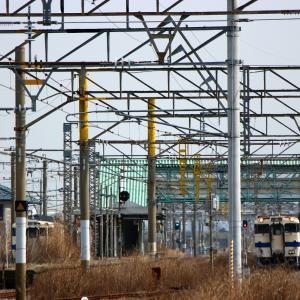 JR九州 長崎本線 キハ47&125形 久保田駅 (2018.02.21)