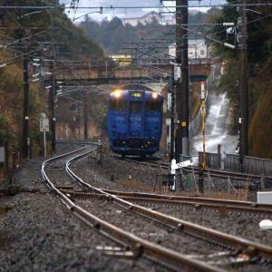 JR九州 長崎本線 キハ66・67形 SSL色 喜々津駅 (2018.02.12)