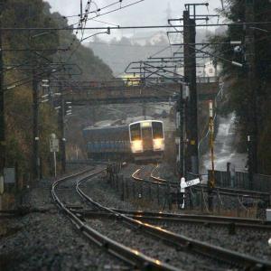 JR九州 長崎本線 415系 喜々津駅 (2018.02.12)