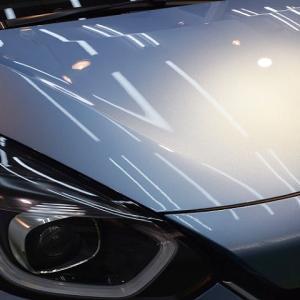 2020/6 ホンダ・FIT e:HEV(エアーライトブルーメタリック)札幌市豊平区より 【スタンダードガラスコーティング】PRO PCX-V110(撥水性低撥水・濡れたような艶・耐薬品性)のご利用頂きまして誠にありがとうございました。