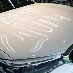 2020/7 BMW・530e Mスポーツ(アルピンホワイト  G30 ) 江別市より【プレミアムガラスコーティング】SPG Cort Type-H(完全2層式ガラスコーティング、撥水・艶・対すり傷・防汚・耐薬品性)のご利用ありがとうございました。