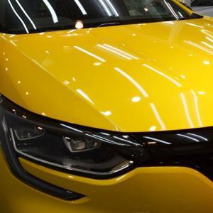 2020/7 ルノー・メガーヌ RS TROPHY(ジョンシリウス)札幌市西区よりルーフラッピングと【プレミアム】SPGコートType-T(完全2層式ガラスコーティング 低撥水・艶・対すり傷・防汚・耐薬品性)】ご利用ありがとうございました。