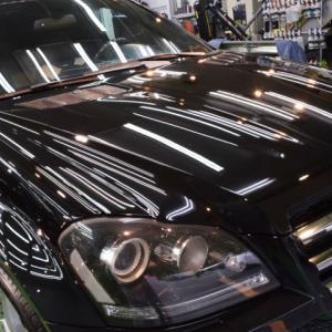 2020/7 メルセデス・GL550(オプシディアンブラック)北広島市より【プレミアムガラスコーティング】SPG Cort Type-H(完全2層式ガラスコーティング、撥水・艶・対すり傷・防汚・耐薬品性)のご利用ありがとうございました。