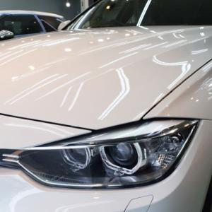 2020/9 BMW・320ツーリング(アルピンホワイト)札幌市豊平区より【スタンダードガラスコーティング】PRO PCX-S8(撥水・艶・対すり傷・防汚性)リアスモークフィルム・ソフトトップコーティングのご利用頂きまして誠にありがとうございました。