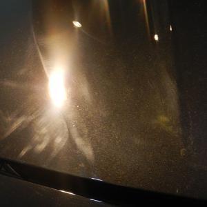 2021/7 BMW・320ツーリング(ブラックサファイア)全体に研磨痕、蛍光灯下で磨かれた典型的な例です。札幌市北区より 【スタンダードガラスコーティング】PRO PCX-V110(撥水性低撥水・濡れたような艶・耐薬品性)コーティング作業ご利用頂きまして誠にありがとうございました。