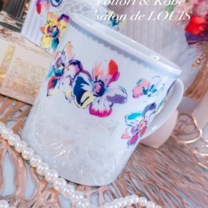 【虹色に輝くマグカップ】生徒様のcafeでハーブティーを❤︎岡山蒜山のスイトン好きすぎて