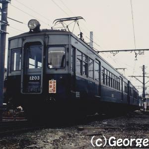 懐かしの木造電車