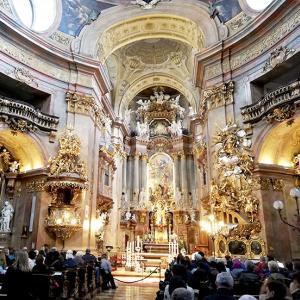 オーストリア旅行記3)ウィーン旧市街地と聖ペーター教会パイプオルガン&合唱コンサート