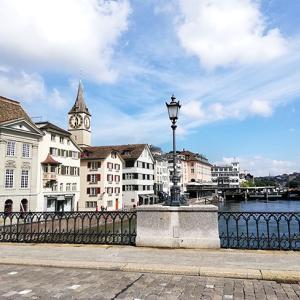 スイス旅行記2)2日目チューリッヒ観光からの帰国!海外女一人旅ブログ
