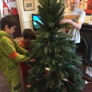我が家もクリスマスモードに