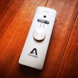 Apogee One for Mac レビュー。超小型で高性能なオーディオインターフェイスを探してるならコレ一択という話。
