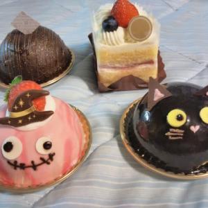 女性からケーキを頂きました