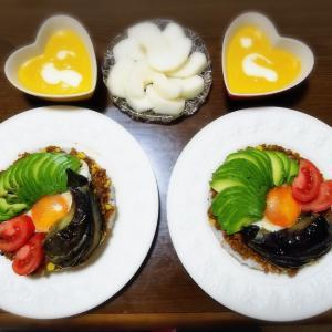 【家ごはん/献立】 コーンたっぷり☆ ドライカレー [レシピ] とうもろこしドライカレー / かぼちゃポタージュスープ