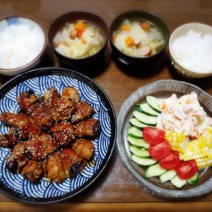 【家ごはん/献立】 ご飯が進むナス料理★ [レシピ] ナスの肉巻き 甘酢ソース