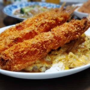 【家ごはん】 玉子丼 2日分♪ * エビフライ卵丼 * コロッケ卵とじ丼