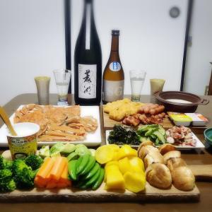 【家飲み】 チーズフォンデュと 日本酒 * 菱湖 純米大吟醸 備前雄町 無濾過生原酒 / 姿 SG 生酒
