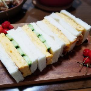 【家ごはん/献立】 サンドウィッチ♪ [レシピ] ミートソース / ナスとトマトのミートソースグラタン