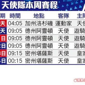 ●台湾新聞●メジャーリーグのチーム名を中国語で。
