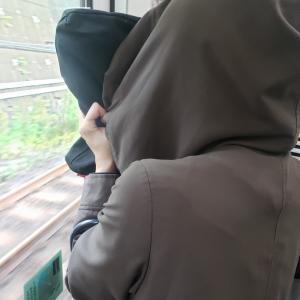 電車でヤベー奴いた。