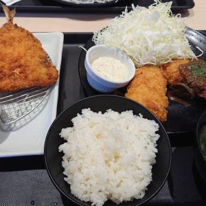 チキンコロッケ定食が美味でした♪松のや 京都南インター店