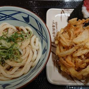 令和2年4月7日の丸亀製麺イオンモール京都店