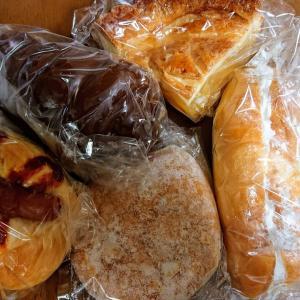 スーパーマツモト内のパン屋さん。マザーバスケット 洛南店