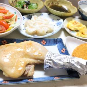 鶏のもも焼きと「発酵コラーゲン納豆」で健康になる!タンパク質祭り