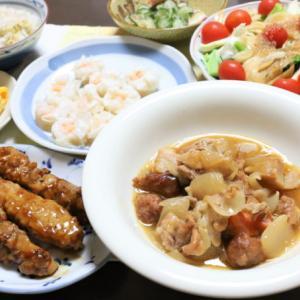おばあが作る健康的で新しい酢豚鶏!?秘訣は2種類の肉、黒酢タレは薄め