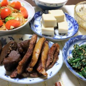 おばあが煮物を失敗…するわけない!豚トロとタケノコの煮物